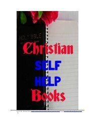 Christian self help and Christian ebook