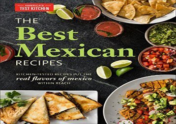 [+][PDF] TOP TREND Best Mexican Recipes  [READ]