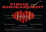 [+][PDF] TOP TREND Firms of Endearment: How World-Class Companies Profit from Passion and Purpose [PDF]