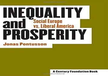[+][PDF] TOP TREND Inequality and Prosperity: Social Europe vs. Liberal America (Cornell Studies in Political Economy)  [DOWNLOAD]