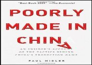 [+][PDF] TOP TREND Poorly Made in China: An Insider s Account of the Tactics Behind China s Production Game  [READ]