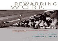 [+]The best book of the month Rewarding Work: How to Restore Participation and Self-Support to Free Enterprise  [FREE]