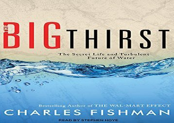 [+]The best book of the month The Big Thirst: The Secret Life and Turbulent Future of Water  [READ]
