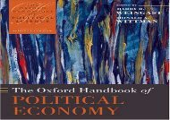 [+]The best book of the month The Oxford Handbook of Political Economy (Oxford Handbooks of Political Science)  [READ]