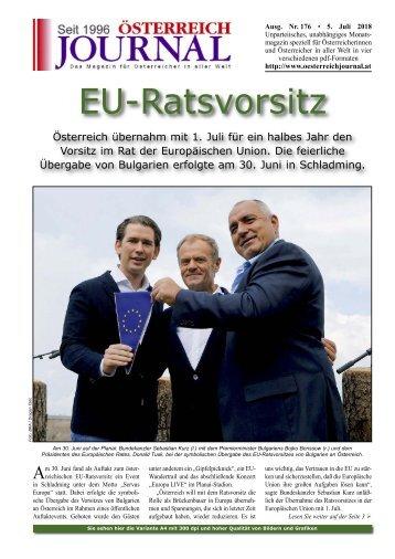 Österreich Journal Ausgabe 176