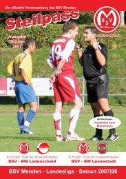 Landesliga - Saison 2007 - BSV Menden
