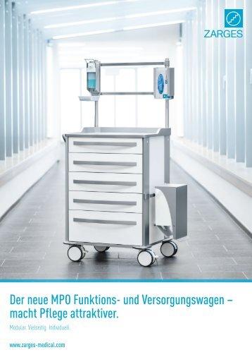 ZARGES Medical MPO Funktions- und Versorgungswagen