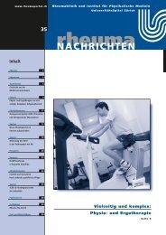 Physio- und Ergotherapie: ein vielseitiger ... - Rheuma Schweiz