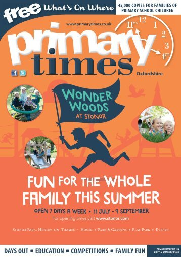 Primary Times Oxfordshire Summer 2018