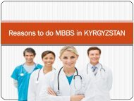 low fee mbbs in kyrgyzstan