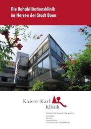 Die Rehabilitationsklinik im Herzen der Stadt Bonn - Kaiser-Karl ...