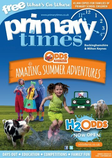 Primary Times Buckinghamshire Summer 18