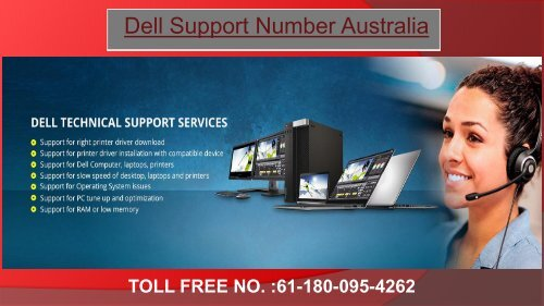 Dell Support Number For Australia for Dell Repair Help