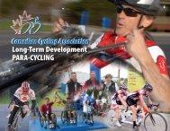 Para-Cycling LTAD - Canadian Cycling Association