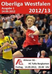 Handballupr - Ahlener SG