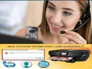 +1 800-597-1052 How To Fix HP Printer Error Code 0x00000015