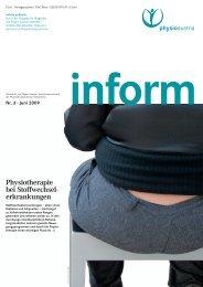 Physiotherapie bei Stoffwechsel erkrankungen - Physio Austria