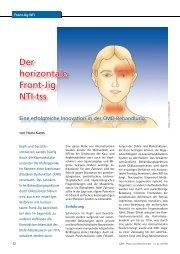 Der horizontale Front-Jig NTI-tss - Zantomed