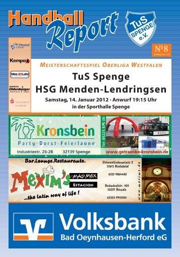 TuS Spenge HSG Menden-Lendringsen