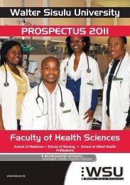important senate notice - Walter Sisulu University
