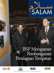 BSP Mempamer Pembangunan Perniagaan Tempatan