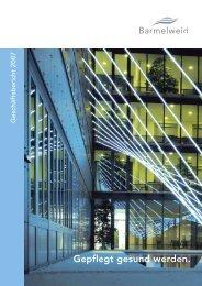 Geschäftsbericht Klinik Barmelweid 2007