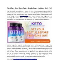 Plant Pure Keto Reviews - Helps To Burn Calories Faster!