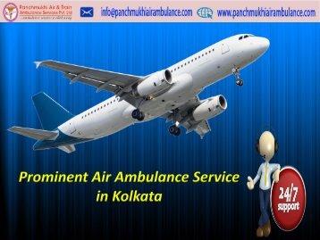 Affordable Price Panchmukhi Air Ambulance Service in Guwahati