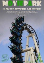 Moviepark 2018 - Anmeldung A5