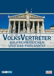 VolksVertreter _ Die Freiheitlichen und das Parlament