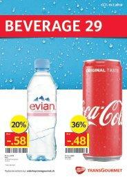 Beverage 29 F