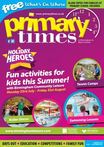 Primary Times Birmingham & Black Country Summer 18