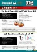 LLG uniCFUGE 2-5 Mini-Zentrifuge Aktion Laborbedarf - Seite 2