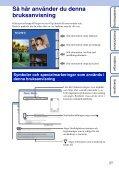 Sony MHS-TS20 - MHS-TS20 Istruzioni per l'uso Svedese - Page 2