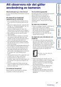Sony MHS-TS20 - MHS-TS20 Istruzioni per l'uso Svedese - Page 3