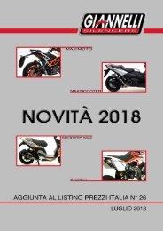 Giannelli - Nuovi Prodotti - Luglio 2018