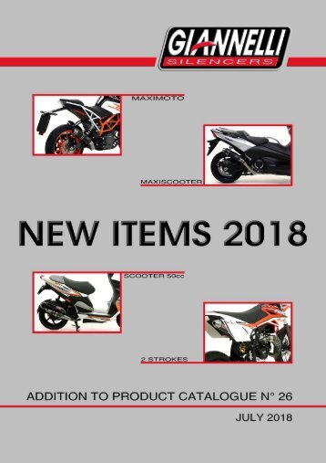 Giannelli - New Items - July 2018