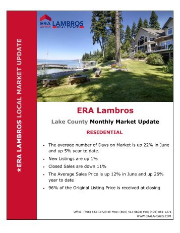 Lake County Residential Update - June 2018