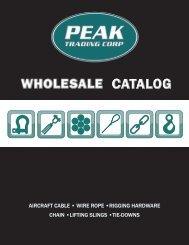 Peak Catalog
