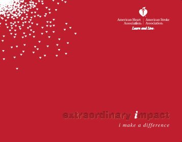 2009 Annual Report - American Heart Association