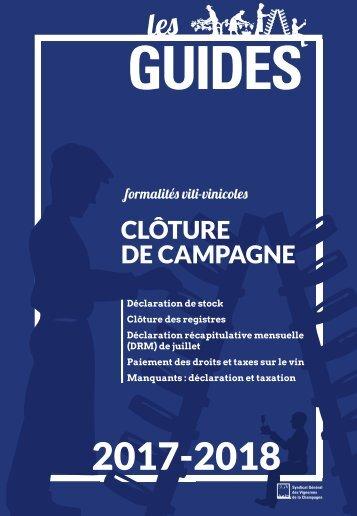 Guide du SGV - Clôture de campagne 2017-2018