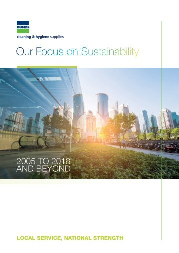BCHS Sustainability Brochure July 2018
