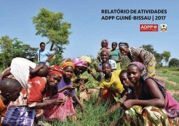 Relatório Anual da ADPP Guiné-Bissau   2017