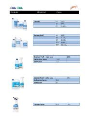 Ceník produktů PHMG 2012 - NOZA, sro