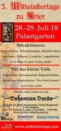 5. Mittelaltertage zu Trier