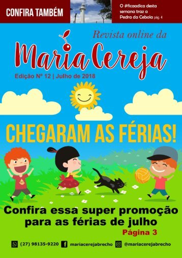 Revista Maria Cereja - Edição 012