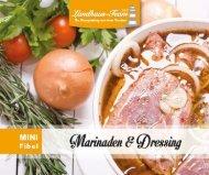 Landhaus-Team: Mini - Marinaden und Dressing