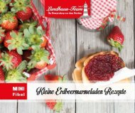 Landhaus-Team: Mini - Erdbeermarmeladen Rezepte