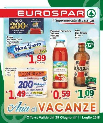 Eurospar S.Gavino 2018-06-28