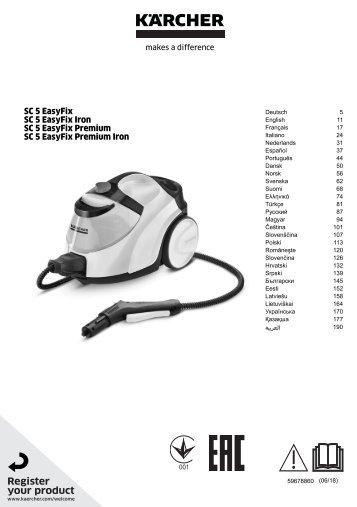 Karcher SC 5 EasyFix - manuals